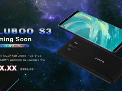 BLUBOO S3 coming and we know the full specs