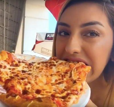 Costco uses over a pound of cheese for the $9.95 cheese pizzas in its food court