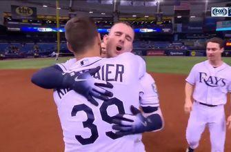 WATCH: Rays knock in 5 the1st, walk-off in the 10th