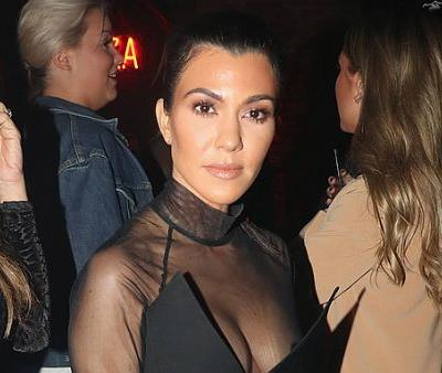 The Rule Kourtney Kardashian Follows to Keep Her Hands Looking Young