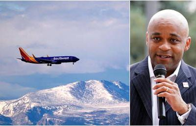 Denver mayor tells residents to 'avoid travel' for Thanksgiving - then boards flight for a family gathering moments later