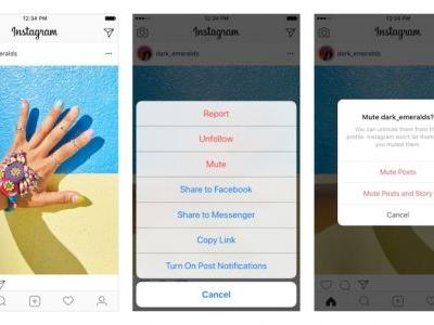 Instagram Announces Mute Feature So You Can Hide Posts Without Unfollowing People