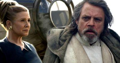 Star Wars 8 First Look at Carrie Fisher and Mark Hamill On