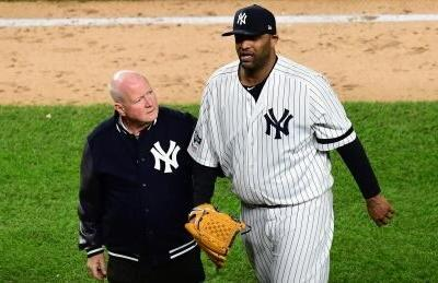 CC Sabathia's big-league career ends with dislocated shoulder