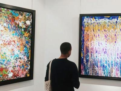"""JonOne's """"The Night Show"""" exhibition has arrived at Galeries Bartoux"""