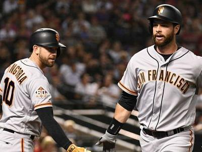 Brandon Belt breaks MLB all-time record with 21-pitch at-bat