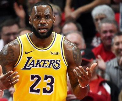 The LeBron Lakers era gets off to a rocky start