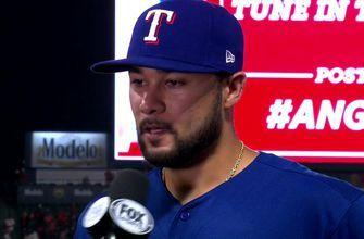 Isiah Kiner-Falefa adds to the Ranger Lead in win vs. Angels