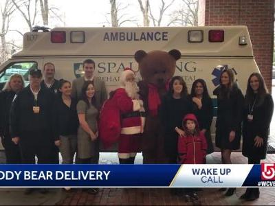 Wake Up Call: Teddy bear delivery