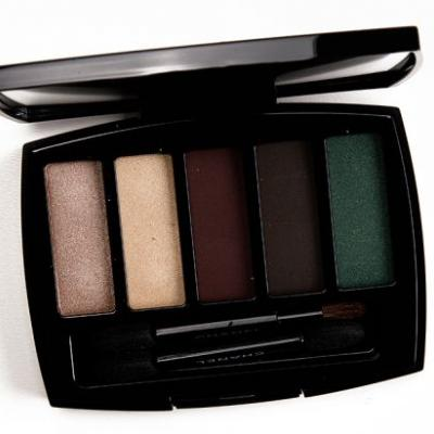 Chanel Trait de Caractere Eyeshadow Palette Review, Photos, Swatches