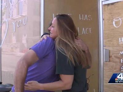 Asheville business owner finds 'angel' who looked after her store during protest