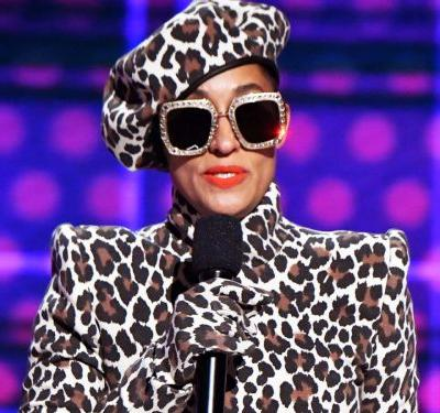 Tracee Ellis Ross Only Wore Black Designers At The AMAs
