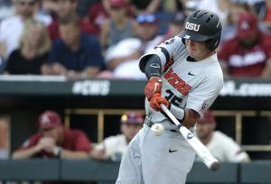 Oregon State wins College World Series, beating Arkansas 5-0