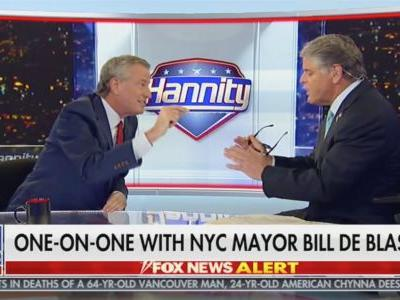 Bill De Blasio's Fascinating Hannity Interview Shows Exactly Why Democratic Candidates Should Go On Fox News