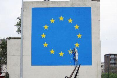 Banksy Reveals New Mural Reflecting the State of the EU
