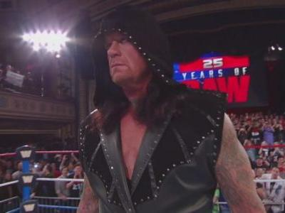 Did The Undertaker Just Announce His Retirement In Return At WWE Raw's 25th Anniversary?