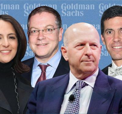 Goldman Sachs org chart: Take a look at the Wall Street bank's top 125 executives