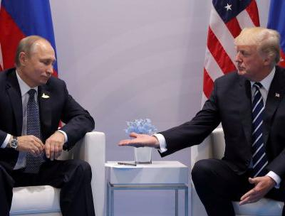 Trump says US-Russia relations are worse than ever, offers a helping hand immediately after threatening missile strikes