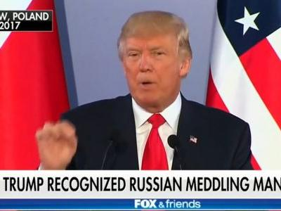 Fox and Friends Plays Montage of Trump Saying Russia Meddled