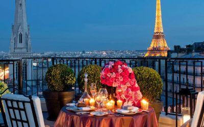Top 10: the best honeymoon hotels in Paris