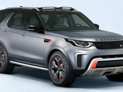 New Land Rover Discovery SVX Surfaces Early With A V8 Engine