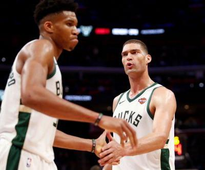 Bucks on verge of first-round sweep with another rout of Pistons