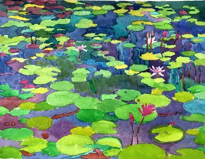 """CAC """"Summer Impressions"""" includes """"Lily Pond"""""""