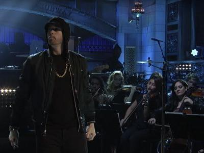 Here's Eminem's Three-Song 'SNL' Medley