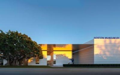 Foster's Norton Museum Expansion Celebrates Grand Opening