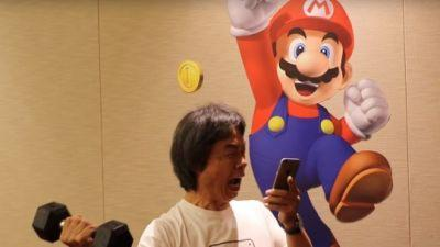 Miyamoto deeply involved with Super Mario Run, considers Switch a console for families, won't bring SMB to mobile