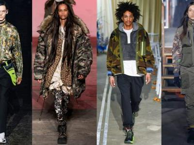 Camo Print Is Back For Good, According to the Fall 2019 Runways