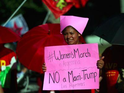 2 million people worldwide are marching for human rights on Trump's 1st full day as president