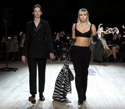 Miley Cyrus just walked at Marc Jacobs' NYFW show