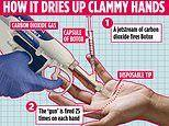 How painless muscle-paralysing Botox 'pistol' can stop excessive sweating without injections