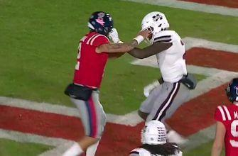 Mississippi State-Ole Miss brawl results in unsportsmanlike conduct on every player on both teams