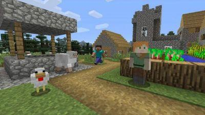 Minecraft resolution on Nintendo Switch increased to 1080p when docked