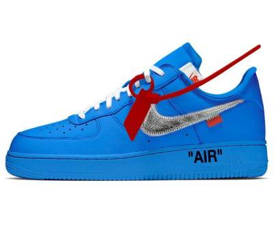 Blue Off-White™ x Nike AF1 Rumored to Release at Museum of Contemporary Art Chicago