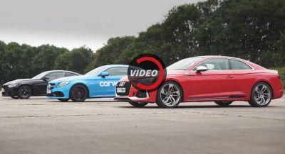 All-New Audi RS5 Pitted Against Mercedes AMG C63 S And BMW M4