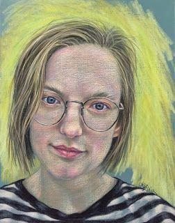 Brooke's portrait by Kim Blair