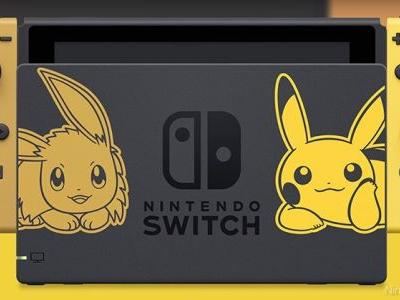 New Switch Bundle Announced For Pokemon Let's Go