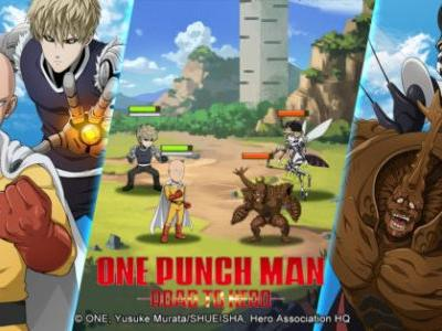 Become A Hero In This New One Punch Man Mobile Game