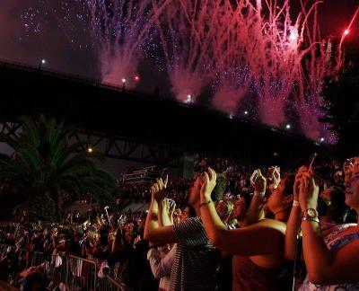 Where is the first and last country to celebrate New Year?