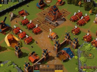 DwarfHeim is an upcoming co-op strategy PC game, and it looks awesome