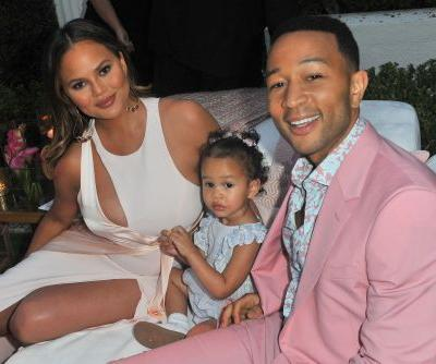 "Chrissy Teigen's Video Of Luna ""Hosting"" 'SNL' Might Be The Cutest Monologue Ever"