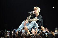 Here's How Many Days Off Justin Bieber Has Had Since His Purpose Tour Began
