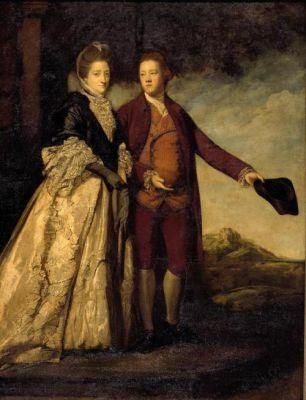 Sir Watkin Williams-Wynn and his Mother by Sir Joshua Reynolds