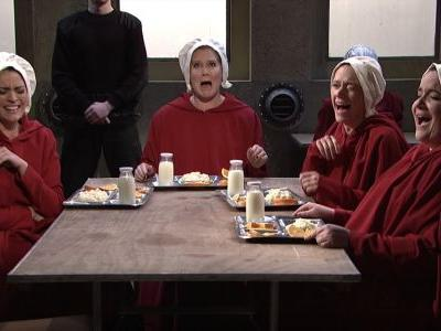 'Saturday Night Live' turned 'The Handmaid's Tale' into 'Sex and the City', and it's terrifying