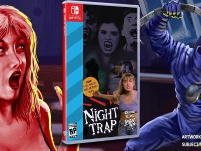 Night Trap Finally Comes To Switch, Limited Run Games Physical Release Included
