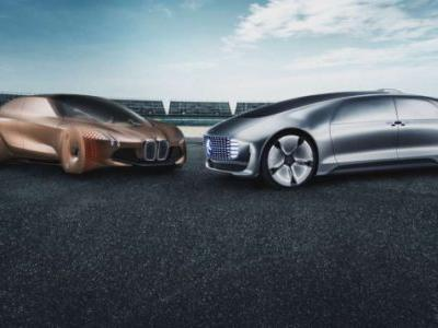 Mercedes and BMW Set Ambitious Goals for Autonomy Team Up