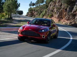 Aston Martin Unveils The DBX Sport Utility Vehicle